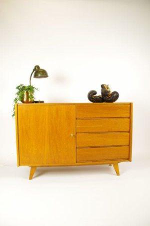 Vintage design kast met lades