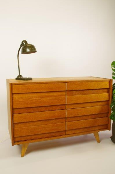 Vintage design kast Jiri Jiroutek, 8 lades