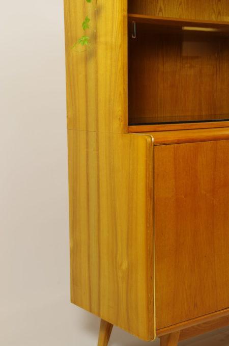 Vintage design kast Jitona, vitrinekast