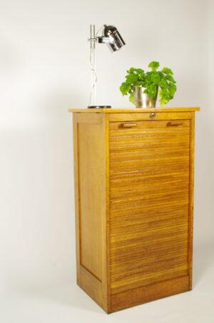 Antiek houten ladekast | rolluik kast Thonet
