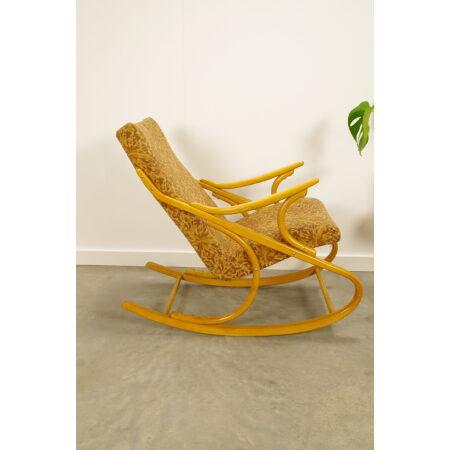 Vintage design schommelstoel Ton, Thonet, fauteuil
